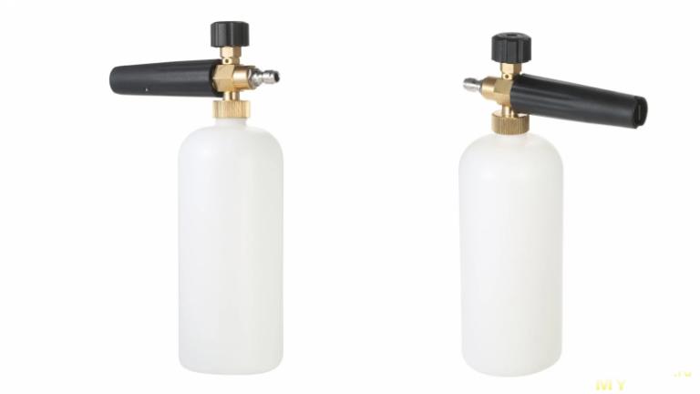 Пеногенератор для мойки высокого давления – Универсальный пеногенератор для мойки высокого давления (1литр, 1/4″ Quick Connector)