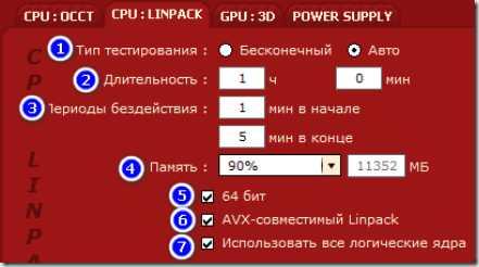 Бп компьютера тест – OCCT–Тест компьютера «ПК» на стабильность