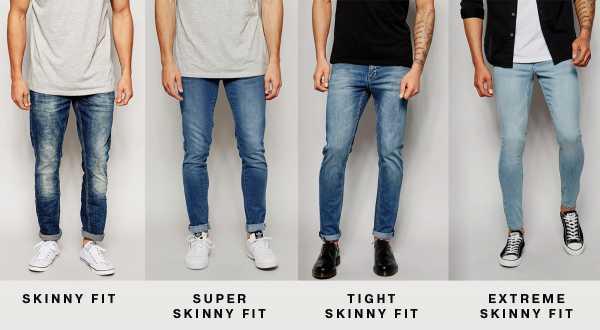 337c54934ea Такие модные мужские джинсы 2018-2019 года можно сочетать с любым верхом   темно-синим вариантам подойдут светлые футболки и характерная шляпа.